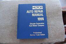 1992-1995 Motors Hard Cover Ford and Chrysler Auto Repair Manuel-Vol. 2