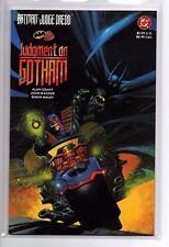 Batman Judge Dredd Judgement on Gotham 1st Print 1991 NM/NM+ 9.4-9.6