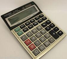 Large display handheld 16 digit desktop dual solar power calculator CT-9616