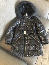 Lipsy Black Girls Coat Age 10