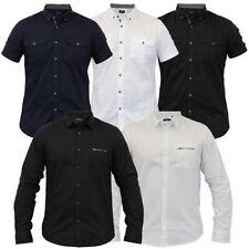 Camisas y polos de hombre azul con algodón
