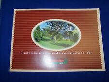 Original Druck Händler Katalog Gartengeräte Programm Gutbrod 1997- Rarität