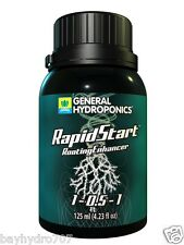 125ml General Hydroponics RapidStart Rooting Enhancer Save $ W/ Bay Hydro $