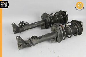 08-17 Mercedes W204 C250 E350 Coupe Front Right & Left Shock Strut Absorber Set