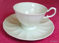 Mikasa Bone China (Cameo White) CUP & SAUCER SET(s) Exc A7000 (10 avail)