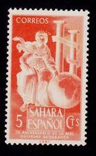 SPANISH SAHARA  SCOTT#  65 MH  ROYAL GEOGRAPHICAL SOCIETY