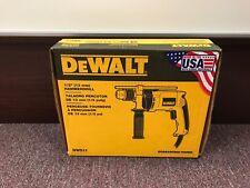 New In Box Dewalt Dw511 1/2'' variable Speed Reversible Hammer Drill