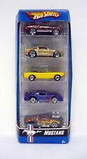 HOT WHEELS MUSTANG 5-PACK Gift Set Die-Cast Cars MISB 2006