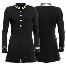 Militär Damenjacken & -mäntel aus Baumwolle mit Knöpfen
