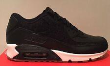 "Nike Air Max 90 Premium ""Voile Noire"" Taille UK 7.5 (Eur 42) 700155 091"