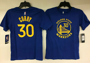 Stephen Curry Golden State Warriors #30 NBA Boys T-Shirt Youth S, M, L, XL Steph