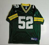 Reebok On Field Mens 48 Clay Matthews Jersey Green Bay Packers Football NFL Sewn