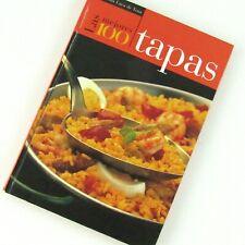Las Mejores 100 Tapas Esperanza Luca de Tena Hardcover Cookbook Bar Food Recipes