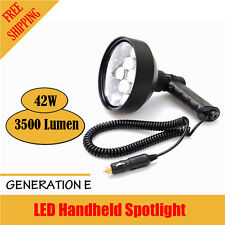 Xhunter 42W LED Handheld Spotlight Aluminium Hunting Spot Light Car Water Resist