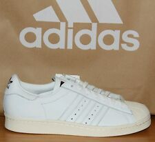 ADIDAS Superstar 80s DLX S75016 UK 10 EU 44.5 RRP £ 90.00