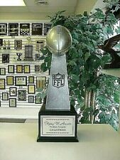 Large Lombardi 16 Yr Fantasy Football Perpetual Trophy Logo Engraved & Painted *