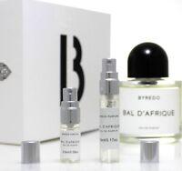 Byredo Bal D'afrique EDP unisex perfume sample travel size 2~2.5~3~5~10ml