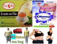 Detox tea slimming cleansing Cleanse weight Loss Colon Organic Herbal Natural