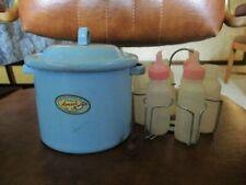 New ListingVintage Amsco Doll Bottle Sterilizer, rack, 6 bottles 1950's