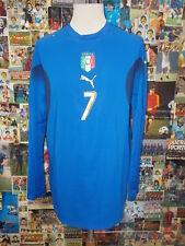 maglia calcio shirt maillot camiseta trikot ITALIA DEL PIERO MATCH WORN