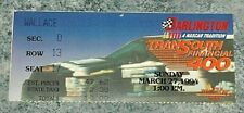 Nascar 1994 Transouth 400 ticket stub Dale Earnhardt 60th win