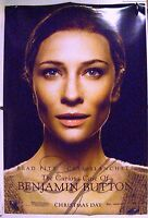 """Curious Case of Benjamin Buttons - 27""""x40"""" 2 Sided  Movie Poster - Blanchett"""