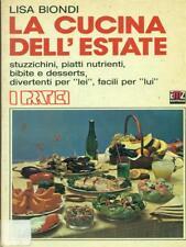 LA CUCINA DELL'ESTATE   LISA BIONDI AMZ EDITRICE 1981 I PRATICI
