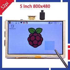 5 Inch 800x480 HDMI TFT LCD Touch Screen for Raspberry PI 3/2 Model B/B+ /A+/B