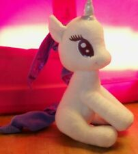 "MY LITTLE PONY MLP Rarity Plush ~ 2014 ~ 10"" Tall ~ Aurora ~ White Purple"
