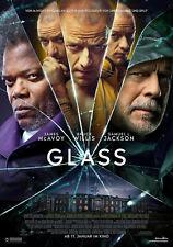 Glass original XXL Kinoplakat 2019 DIN A0 Neu Poster 119cm Bruce Willis Split