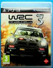 WRC World Rally Championship 3 PS3 PlayStation3 Video Game Mint Cond UK Release