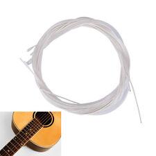 6pcs Guitar Strings Nylon Silver Plating Set Super Light for Acoustic Guitar ZP