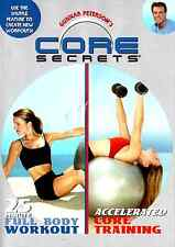 Gunnar Peterson's CORE SECRETS DVD 25 Minute Full Body Workout ACCELERATED CORE