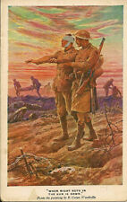Down Unposted Collectable WWI Military Postcards (1914-1918)