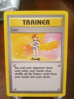 Lass 75/102 Rare Pokemon Trainer Base Set Unlimited NM