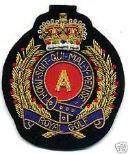 GOLF  Magnetabzeichen handgestickt Royal Images Golfabzeichen
