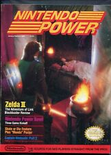 1989 Nintendo Power Magazine 4th Issue Featuring Zelda II Jan/Feb High Grade