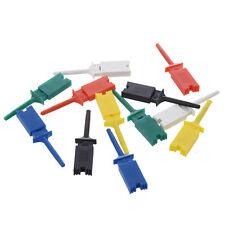 12X SMD CI 6 colori di prova della clip del gancio Grabber Sonda di prova O1X7