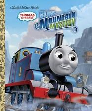 Thomas Tank Engine&Friends Blue Mountain Mystery New Hardcover LittleGolden Book
