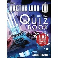NEW - Doctor Who: The Official Quiz Book (Doctor Who (BBC)) (PB) 1849907692   B5
