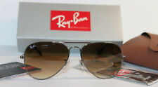Brand New Ray-Ban Sunglasses RB3025 004/51 58MM Gunmetal Frame Brown Gradient