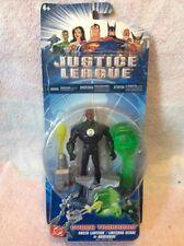 Raro Liga De La Justicia 2005 Cyber Trakkers figura De Linterna Verde