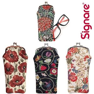 Signare Glasses Case Pouch In A Choice of Patterns