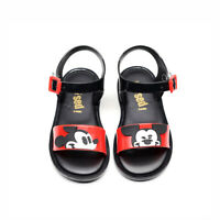 Melissa 2019 Style Mickey Girls & Boys Jelly Sandals Kids Non-slip Shoes Toddler