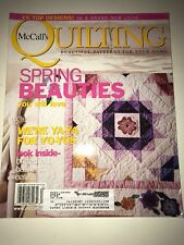 McCalls Quilting Magazine June 03 Designs From The Pros, (B-11