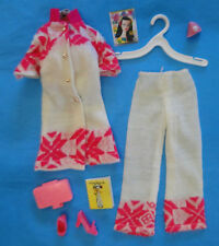 Vintage MOD Barbie 1970's Fun Flakes #3412 w/ Accessories - Shoes, Make-Up Case+