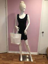 Hand Bag / Bojo Bag 2019 Neiman Marcus White Open Top Shoulder Tote Bag New