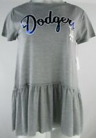 Los Angeles Dodgers MLB Touch  Women's Short Sleeve Flowy Graphic Shirt
