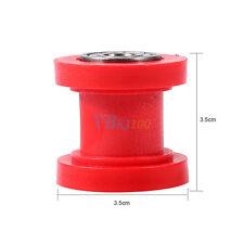 1Pc Red 8mm Chain Roller Slider Tensioner Wheel Guide Pit Dirt Mini Bike ATV AP
