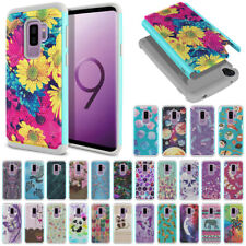 "For Samsung Galaxy S9 Plus S9+ 6.2"" Hybrid Protective Shock Absorbent Cover Case"